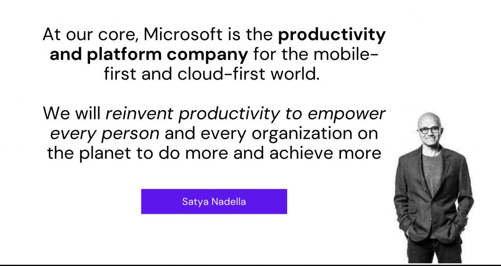 Microsoft Productivity Platform